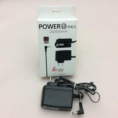 Fonte Fire Custom Shop Power One 9v Dc 2000ma