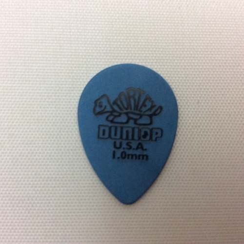 Palheta Dunlop Tortex Small Teardrop 1,0mm