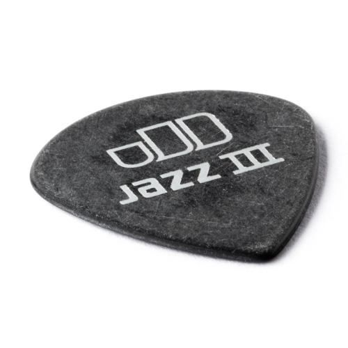 Kit Pacote 12pçs Palheta Dunlop Tortex Black Gold Jazz 1.14m