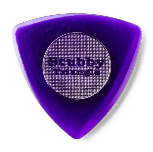 Kit Pacote 6pçs Palheta Dunlop Tri Stubby 3mm