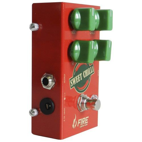 Pedal De Drive Para Guitarra - Fire Custom Shop Sweet Chilli