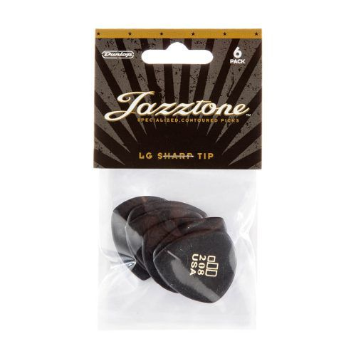 Kit Pacote 6pçs Palheta Dunlop Jazztones 208