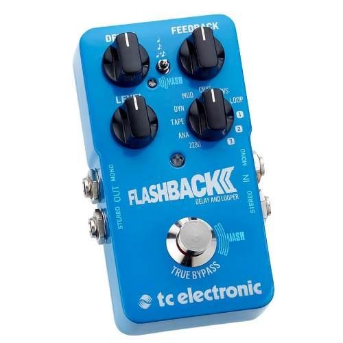 Pedal Guitarra Tc Electronic Flashback 2 Delay Looper