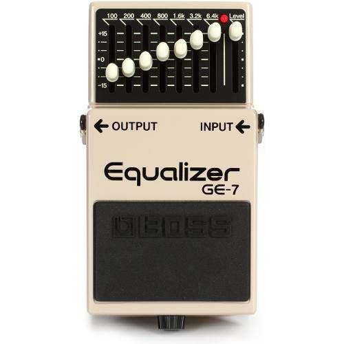 Pedal Boss Equalizador Grafico Ge-7 Para Guitarra,promoção!