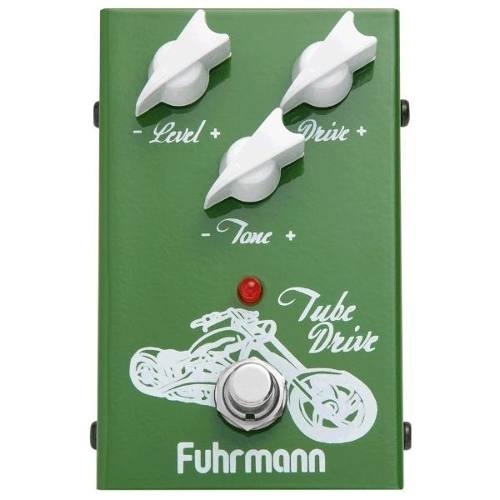 Pedal Fuhrmann Tube Drive Over Guitarra Td02