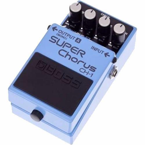 Pedal Boss Ch1 Super Chorus Guitarra