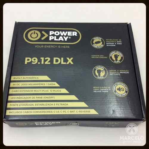 Fonte Para Até 12 Pedais Power Play P9.12-melhor Que 1 Spot