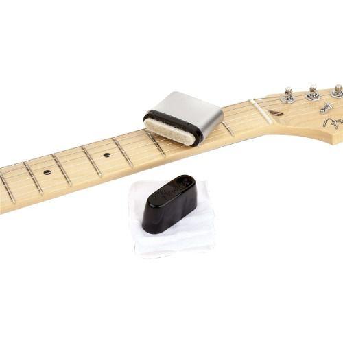 Limpador De Cordas Fender Guitarra Baixo Violão Speed Slick