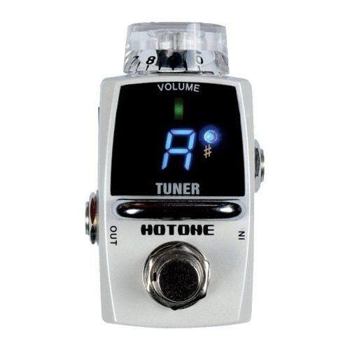 Pedal Afinador Hotone Tuner Stu 1 + Brindes