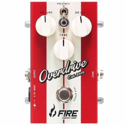 Pedal Fire Custom Shop New Overdrive