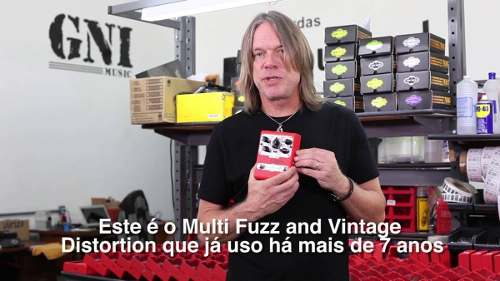 Pedal Nig Multi Fuzz & Vintage Distortion Andy Timmons FZDAT