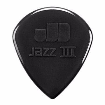 Palheta Dunlop Jazz Iii Preta