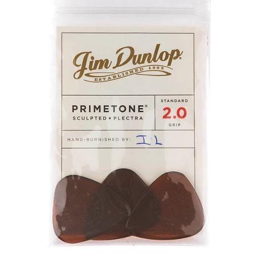 Kit Pacote 3pçs Dunlop Primetone Standard Pick With Grip 2.0