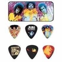 Kit 12pçs Palheta Dunlop Jimi Hendrix Sortida,promoção
