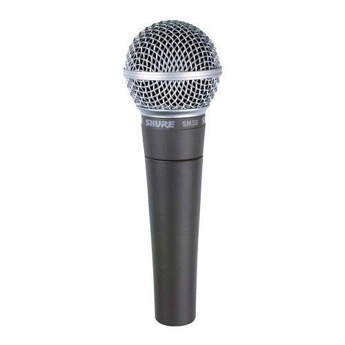 Microfone Profissional Mão Shure Sm 58 Lc