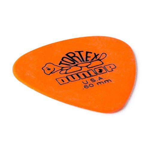 Kit Pacote 6pçs Palheta Dunlop Tortex Standard 0.60mm