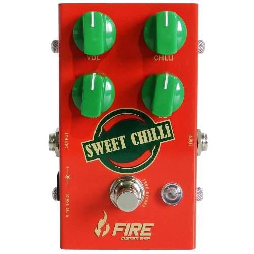 Pedal Fire Sweet Chilli Transparent Drive + Brindes!!!