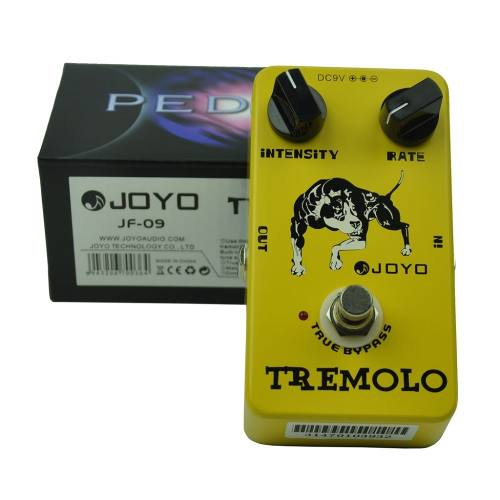Pedal Guitarra Joyo Jf 09 Tremolo