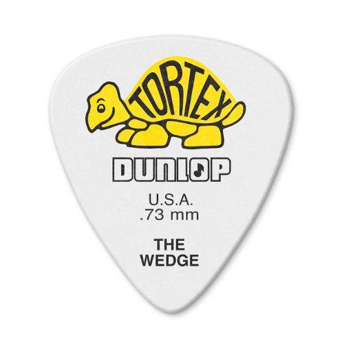 Kit Pacote 12pçs Palheta Dunlop Tortex Wedge 0.73mm