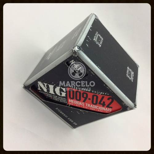 Kit 12sets Encordoamentos Guitarra 009/042 Nig
