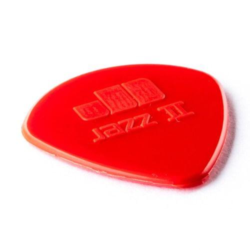 Kit Pacote 6pçs Palheta Dunlop Jazz Iii Vermelha