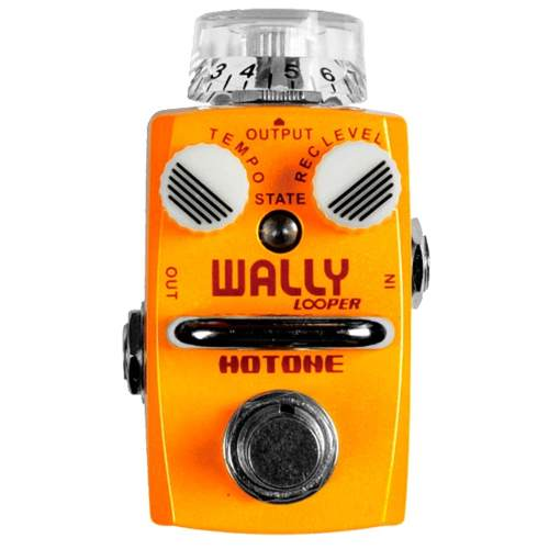 Pedal Guitarra Hotone Wally Loop Station Slp 1