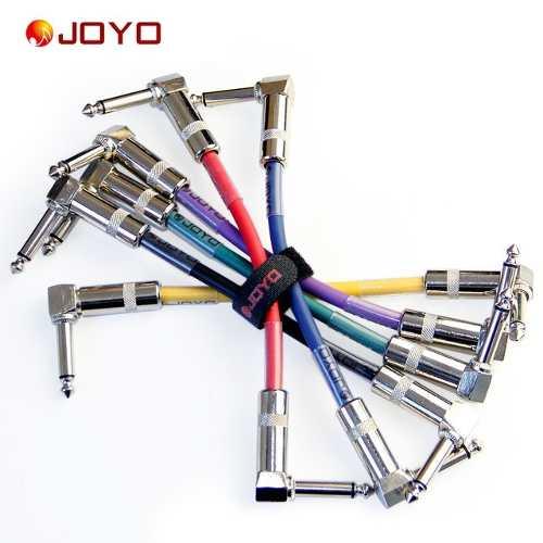 Kit 12pcs Cabo Pedal 11cm Joyo Cm-11