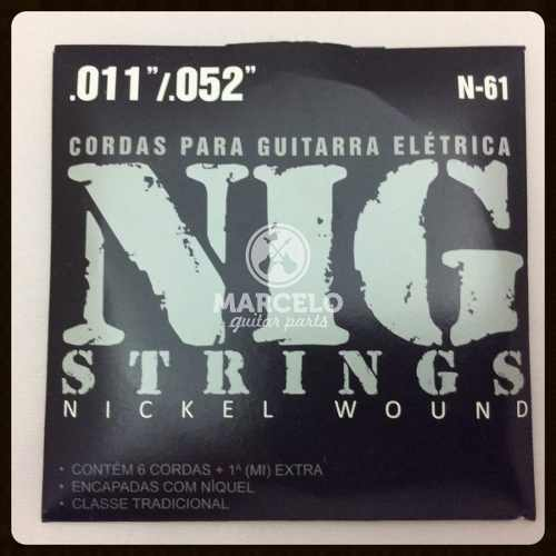 Encordoamento Guitarra 011/052 Nig