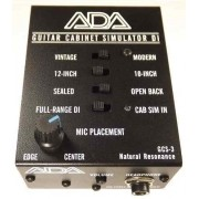 Direct Box Guitar Cabinet Simulator Ada Gcs-3