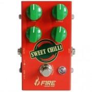 Pedal De Drive Para Guitarra - Fire Custom Shop Sweet Chilli