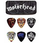 Kit 6pçs Palheta Dunlop Motorhead Album Art 0.73mm