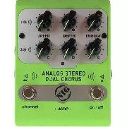 Pedal De Chorus Analog Stereo Dual Chorus - Nig ASDC