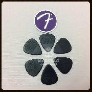 Kit Pacote 6pçs Palheta Fender Nylon Pick 1,14mm