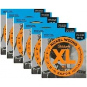 Kit 6sets Encordoamento Guitarra D Addario Exl 110b 010/046
