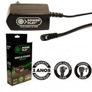 Fonte Power Play Single Power P/pedais 9v Dc 1000ma