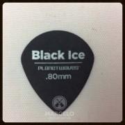 Palheta Planet Waves Black Ice Medium 0,80mm