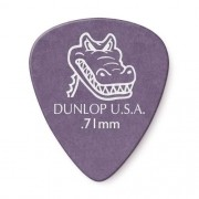 Palheta Dunlop Gator Grip 0,71mm