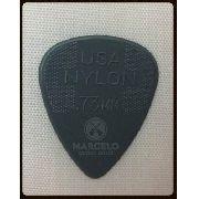 Palheta Dunlop Nylon 0.73mm Cinza