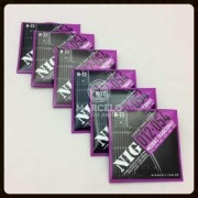 Kit 6sets Encordoamentos Guitarra 012/054 Nig