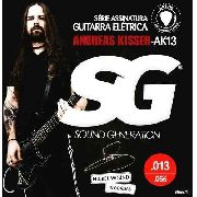 Encordoamento Guitarra Sg Ak13 Andreas Kisser Signature