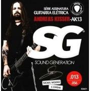 Encordoamento Guitarra Sg Ak13 Andreas Kisser Signature