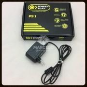 Fonte Power Play P9.1para 1 Pedal 9v Dc 2000ma