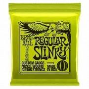 Encordoamento Guitarra Ernie Ball 10/046 Regular Slinky 2221
