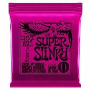 Encordoamento Guitarra Ernie Ball 09/042 Super Slinky