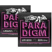 Kit 2sets Encordoamento Guitarra Ernie Ball Paradigm 009-042