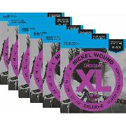 Kit 6sets Encordoamento Guitarra D Addario Exl 120 009/042