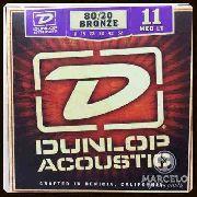 Encordoamento Violão Dunlop 011/52 Bronze,revenda Autorizada