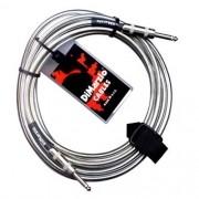 Cabo Instrumentos Dimarzio Crome Cable P10 3.05m