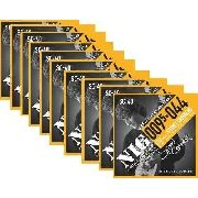 Kit 10sets Encordoamento Guitarra 095/44 Nig Sydnei Carvalho