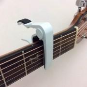 Capotraste Violao Viola Guitarra Metal Branco